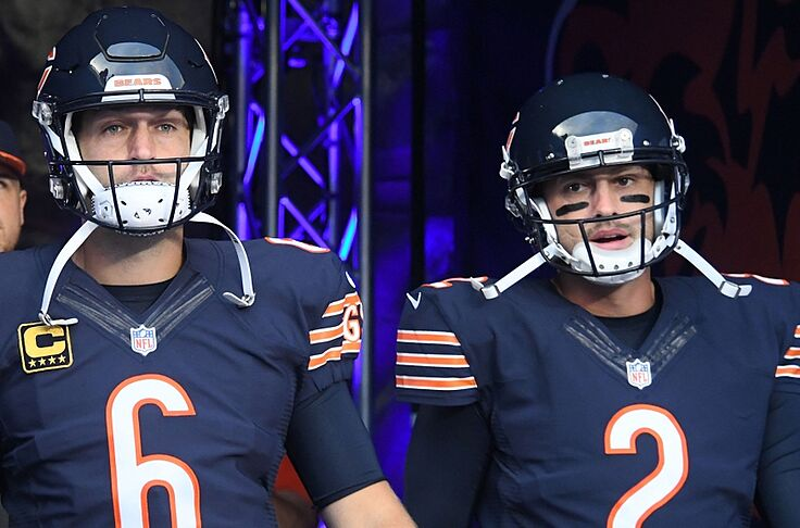 17f2d6fbe09 Sep 19, 2016; Chicago, IL, USA; Chicago Bears quarterback Jay Cutler