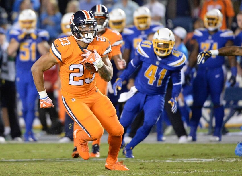 Denver Broncos Devontae Booker Taking Over As Lead Back
