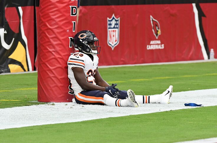the best attitude 30bf5 b4318 Chicago Bears: It's time to feed Tarik Cohen