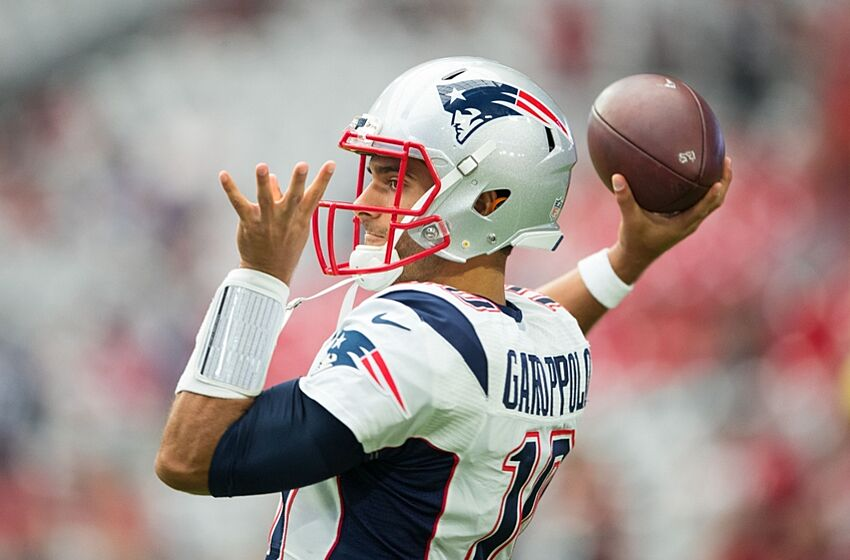 Jimmy Garoppolo Throws First Touchdown for Patriots in ... Jimmy Garoppolo Patriots Highlights