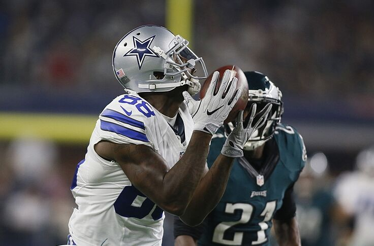 Dez Bryant S First Catch In Return Goes For 53 Yards Video