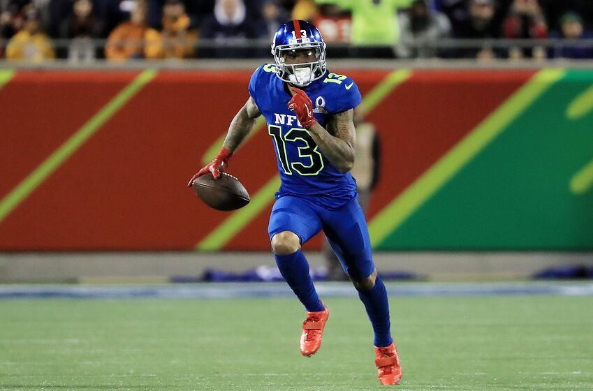 0dffc92f ORLANDO, FL - JANUARY 29: Odell Beckham Jr #13 of the NFC carries