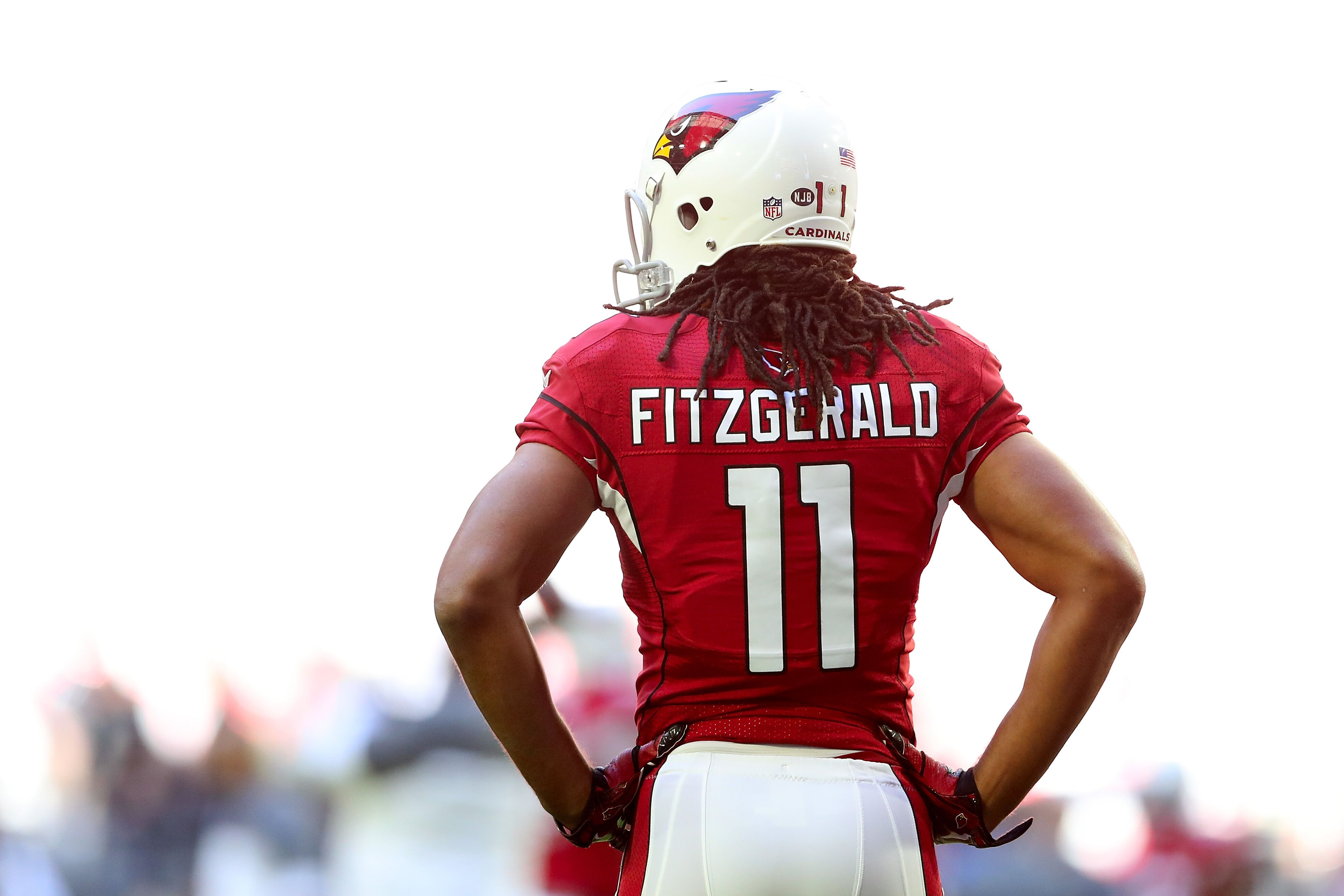 Arizona Cardinals Larry Fitzgerald Set To Move Up All