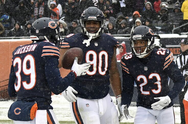 cheap for discount 37723 9c83d Chicago Bears: 5 Things first official depth chart signals