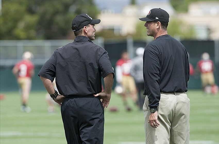 Could Jim Harbaugh be another NFL coach traded  Mandatory Credit  Ed  Szczepanski-USA 160ad89f7db