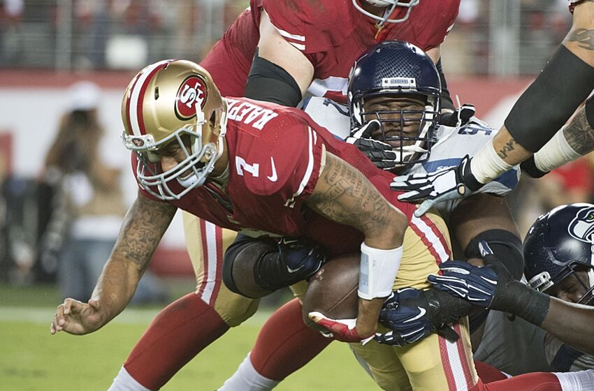 ee7b03ff8 It s Fitting for 49ers QB Colin Kaepernick to Face the Seahawks in Likely  Finale
