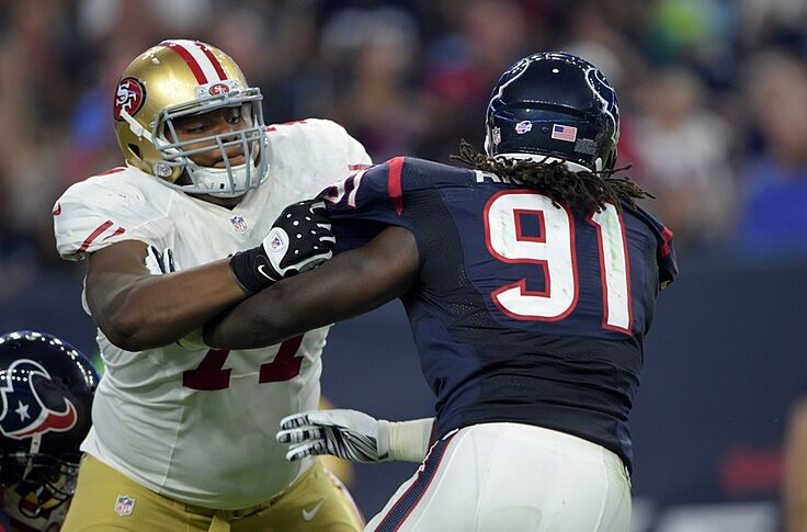 huge discount 470a9 c0419 49ers: Who is Trent Brown?
