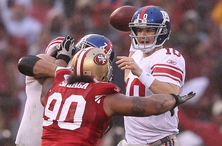 new products 0e088 515bf 49ers pass rush should have big day vs. Eli Manning, Giants ...