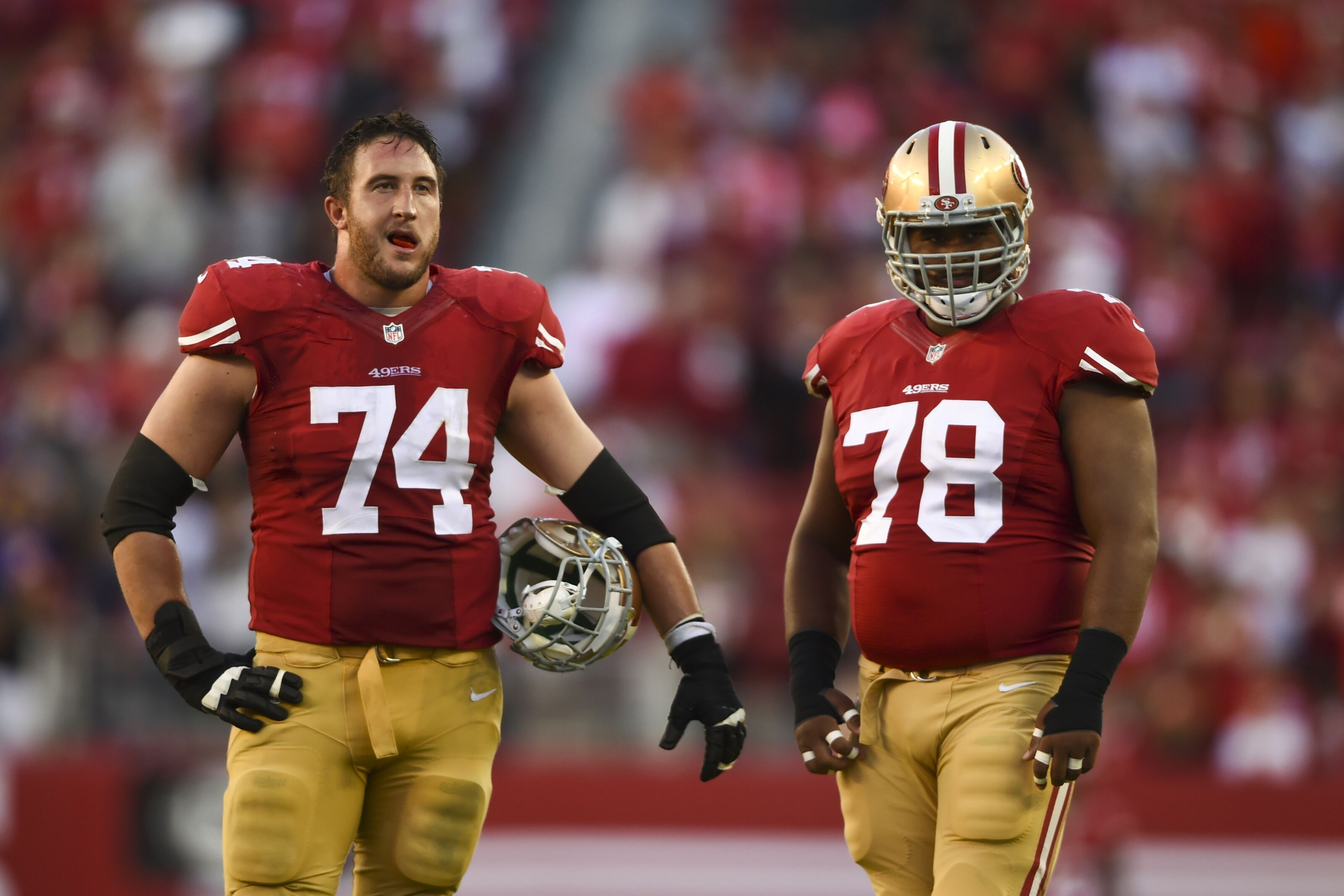 49ers offensive line quickly becoming a team strength in 2018