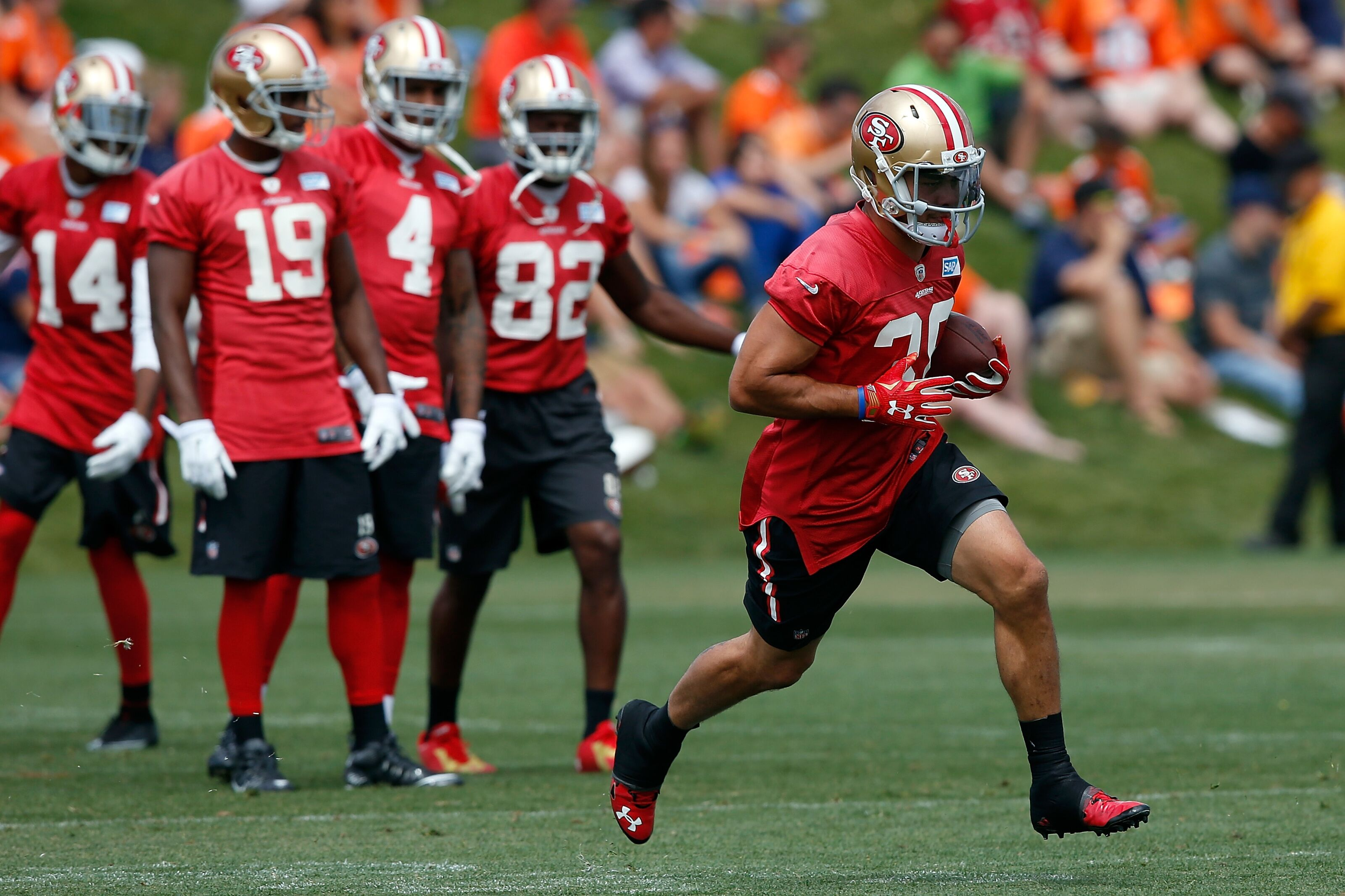 49ers, Texans joint practice recap: Scuffle breaks out, Jimmy Garoppolo intercepted
