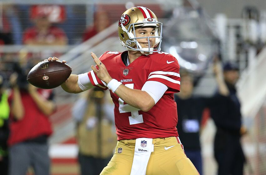 b3d22127c55 49ers  Nick Mullens is the story San Francisco needed in 2018