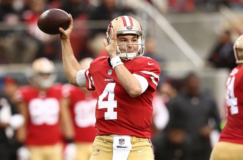 bb0cb9ca0 49ers  Nick Mullens shuts out C.J. Beathard for remainder of season