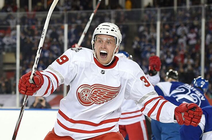 competitive price d0fed e995e Hockeytown AM: Anthony Mantha Deserves a Permanent ...