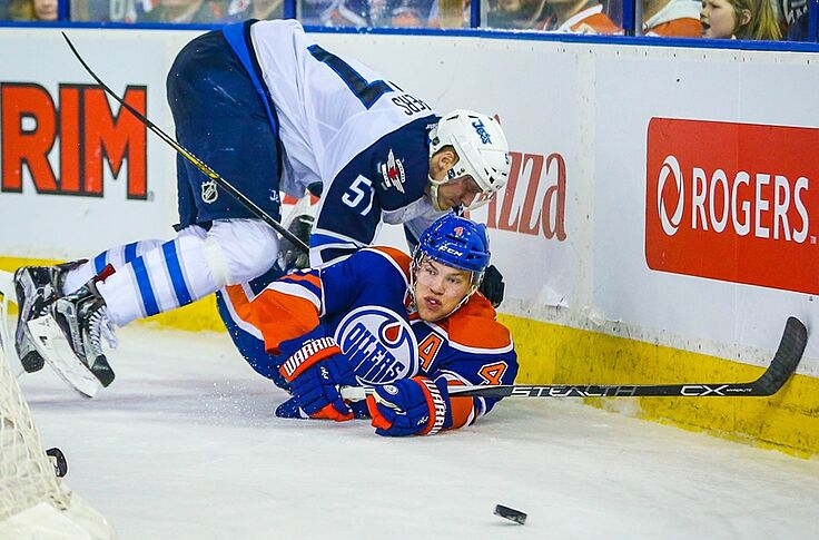 brand new ae57a 97591 Edmonton Oilers Will Play Jets in 2016 Heritage Classic