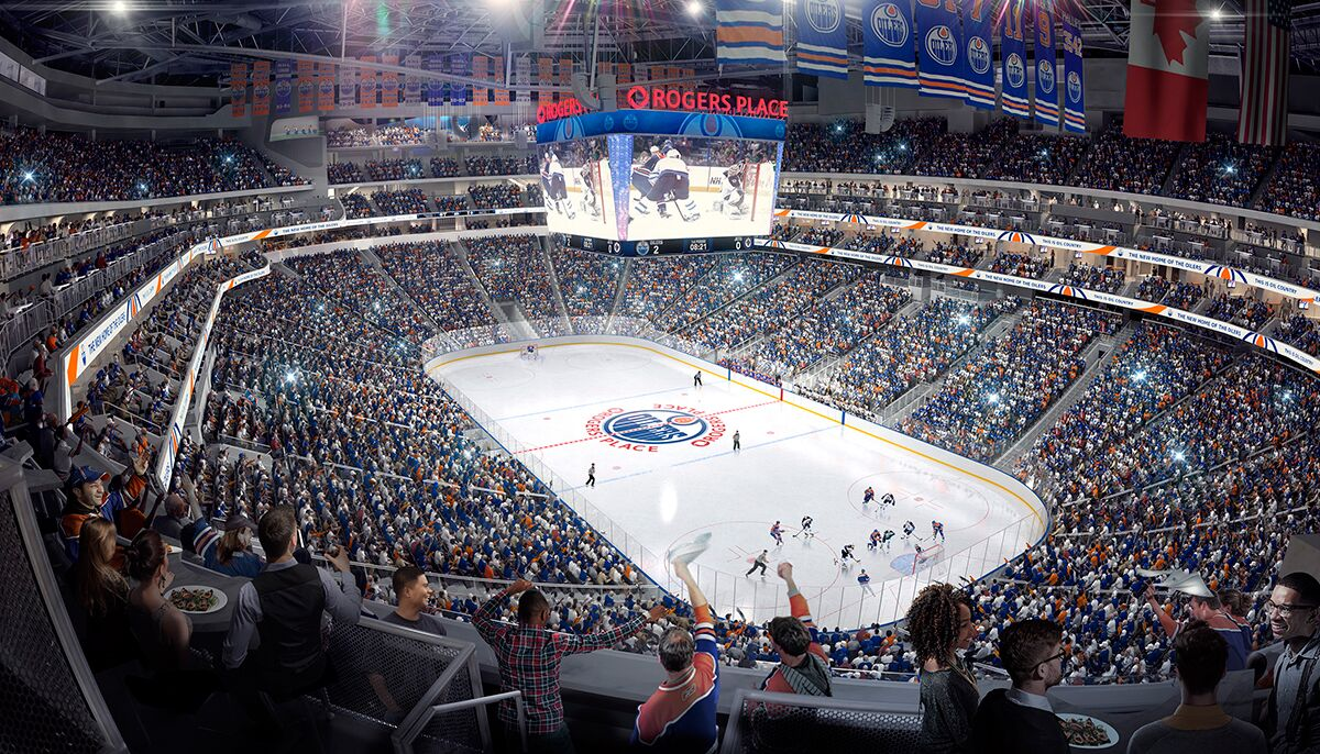 Edmonton Oilers Owners City Suing Rogers Place Architects