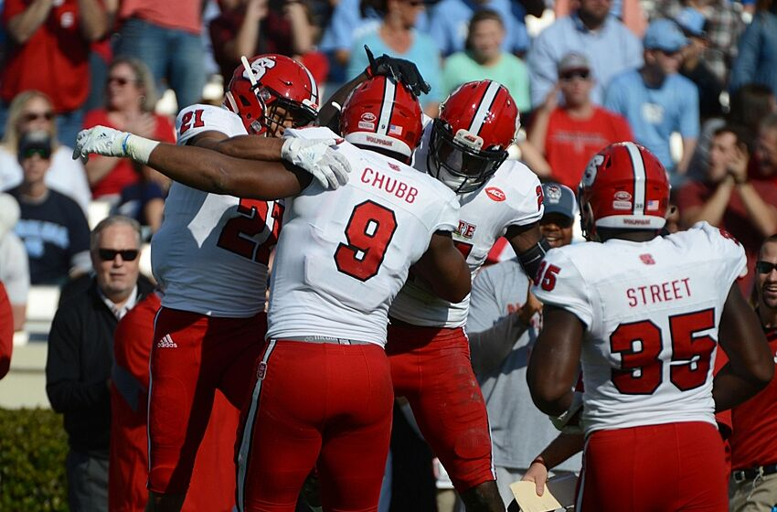 534acd742cf NC State Wolfpack  Victory Over Rival UNC Means Bowl