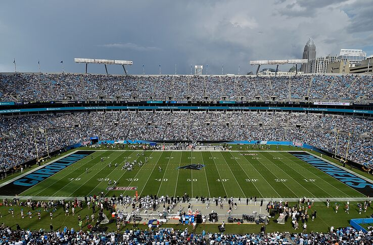 Panthers Moment No 15 Panthers Open Bank Of America Stadium