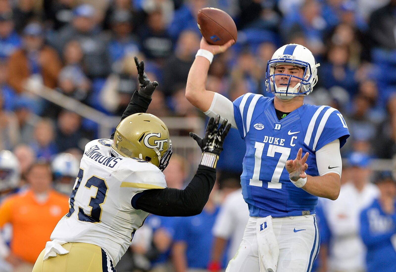 Duke Football Daniel Jones Makes 2018 Maxwell Award Watch List
