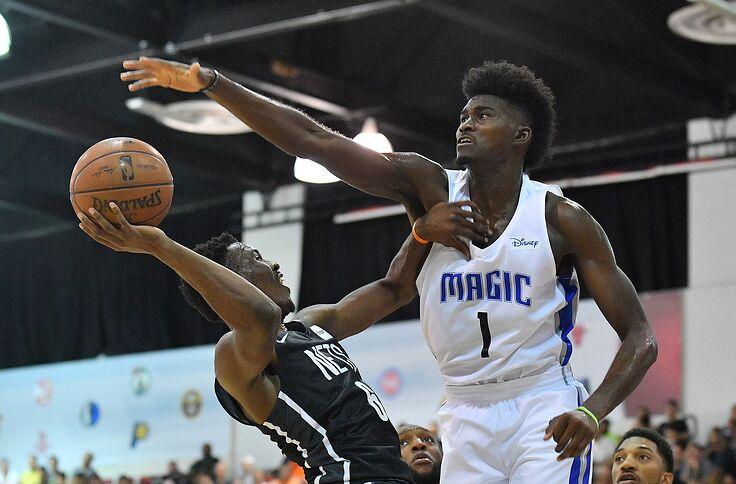 951b53d553c Magic Wands  Orlando Magic vs. Utah Jazz -- July 12