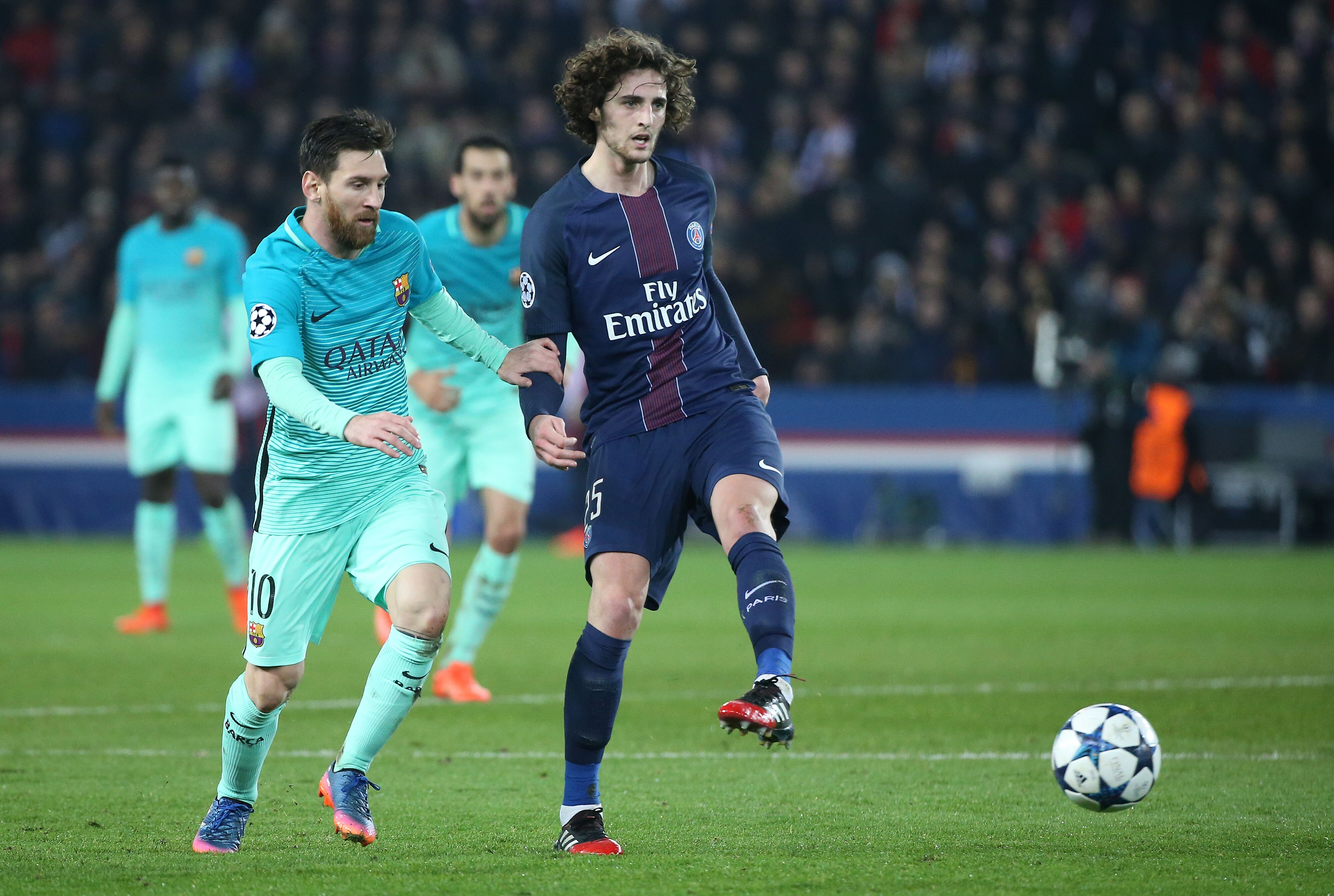 Image result for Adrien Rabiot  and barcelona