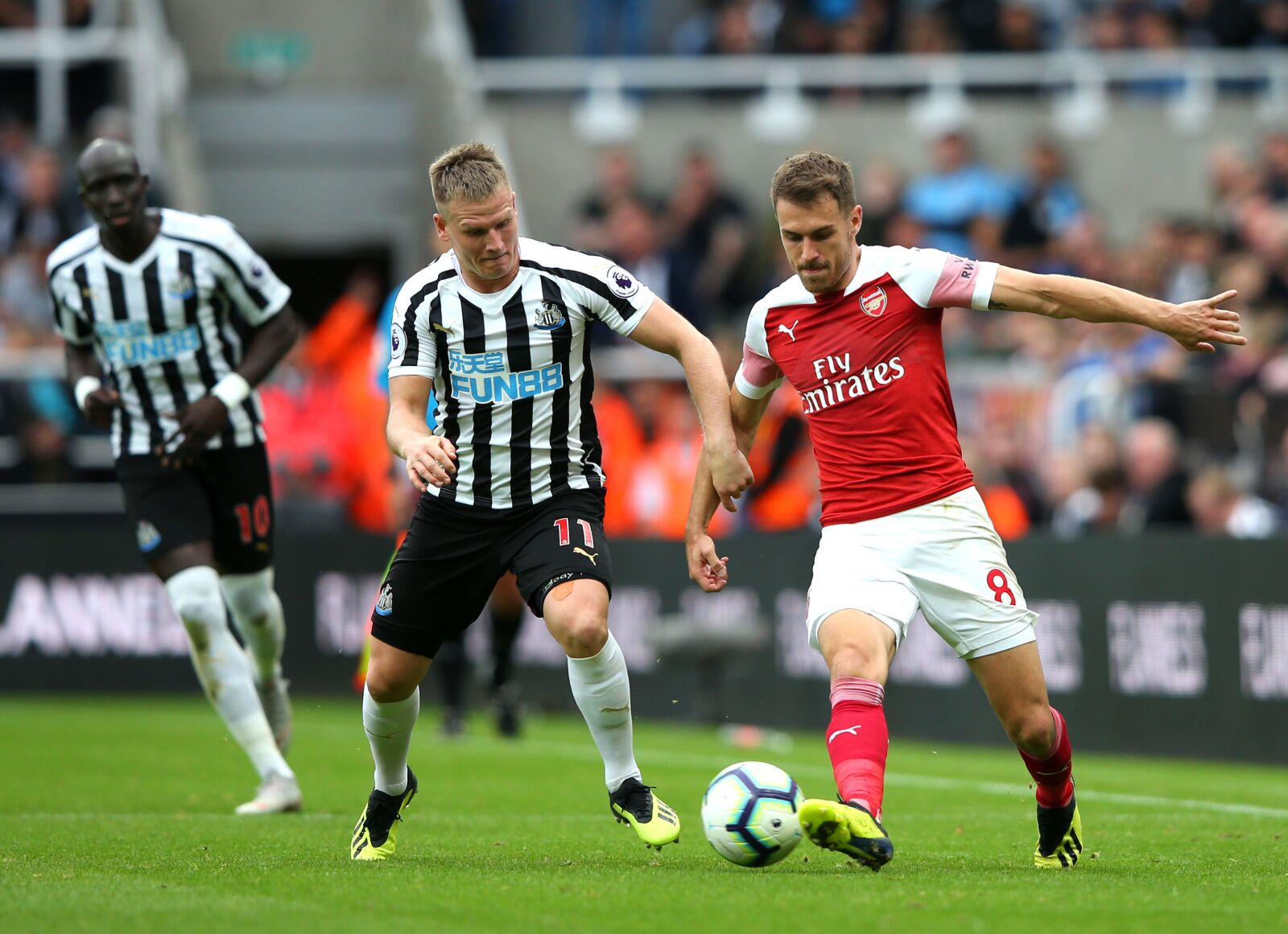 Arsenal Vs Newcastle: Arsenal Vs Newcastle United: There's A Problem With Aaron