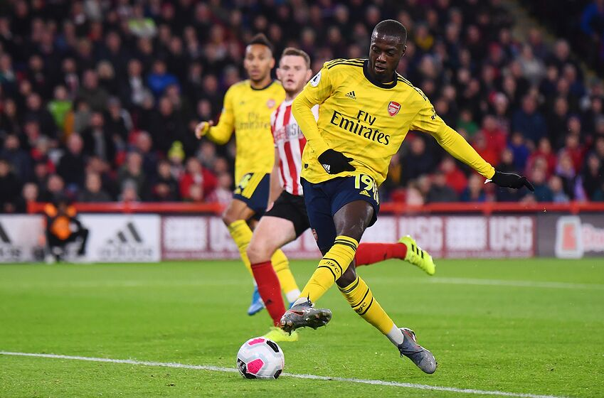 arsenal there has to be more to nicolas pepe than this. Black Bedroom Furniture Sets. Home Design Ideas