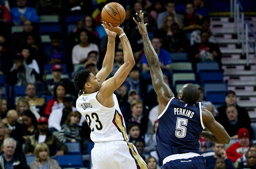 37c50fc52 Ways Kendrick Perkins Plays for the New Orleans Pelicans
