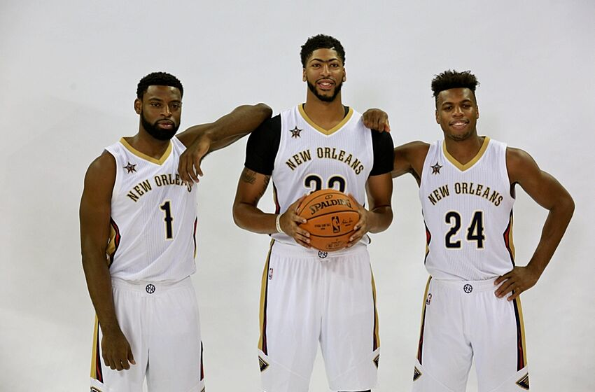 Sep 23 2016 New Orleans La Usa Pelicans Anthony