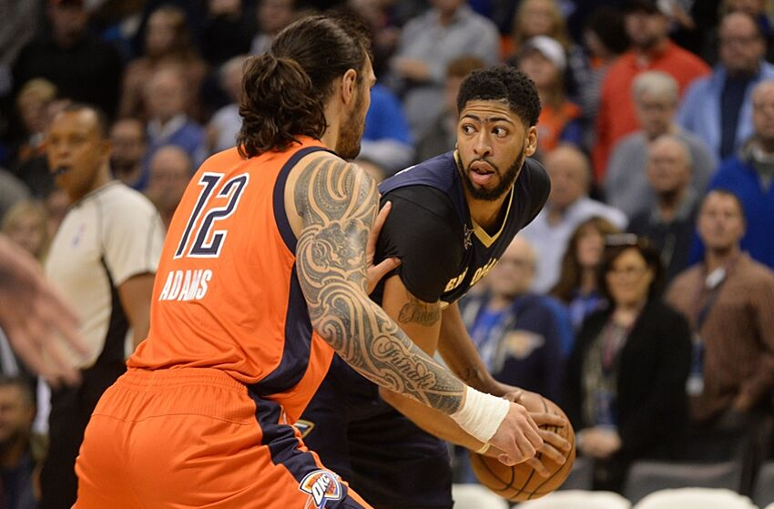Anthony Davis had his body and mind challenged by the Oklahoma City ... 539b8dd97