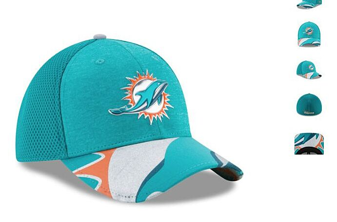 discount 94bac f0980 Miami Dolphins 2017 official draft hat