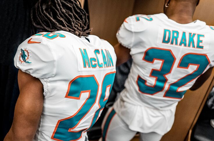huge selection of 57f0b f33f4 Leaked: Subtle but bold changes to Miami Dolphins uniform