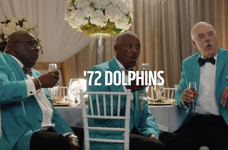 More of the Super Bowl NFL's 100th season ad with Miami Dolphins