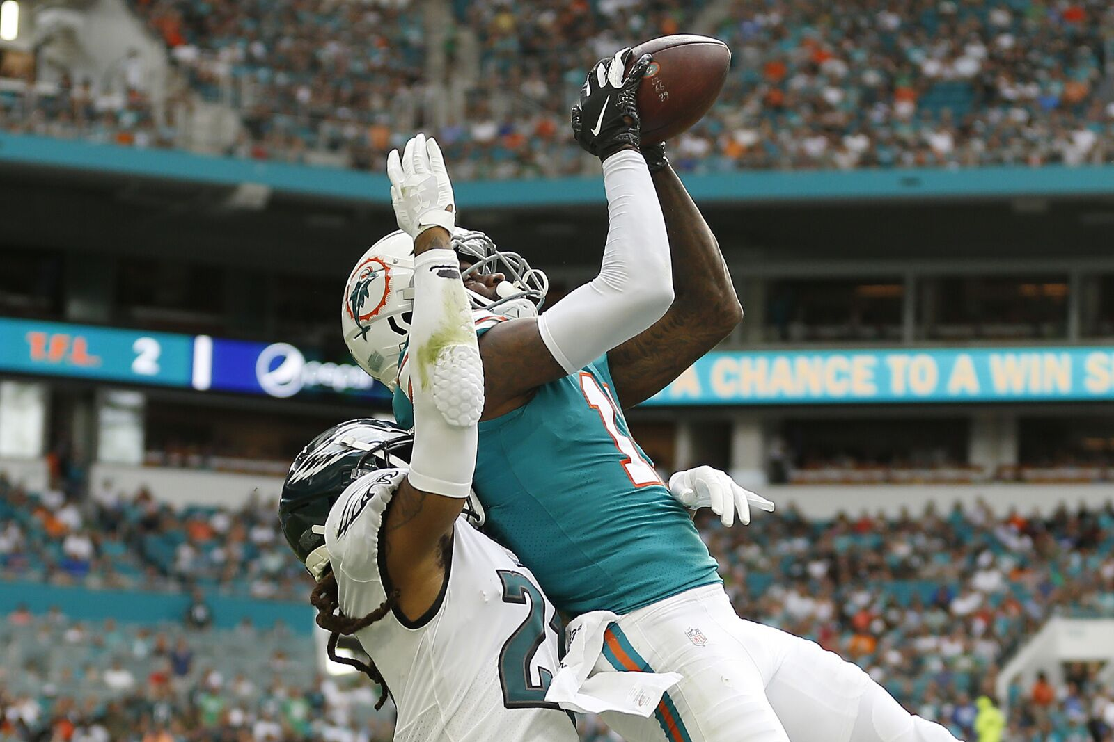 Dolphins DeVante Paker snubbed for Pro Bowl while Tannehill is added