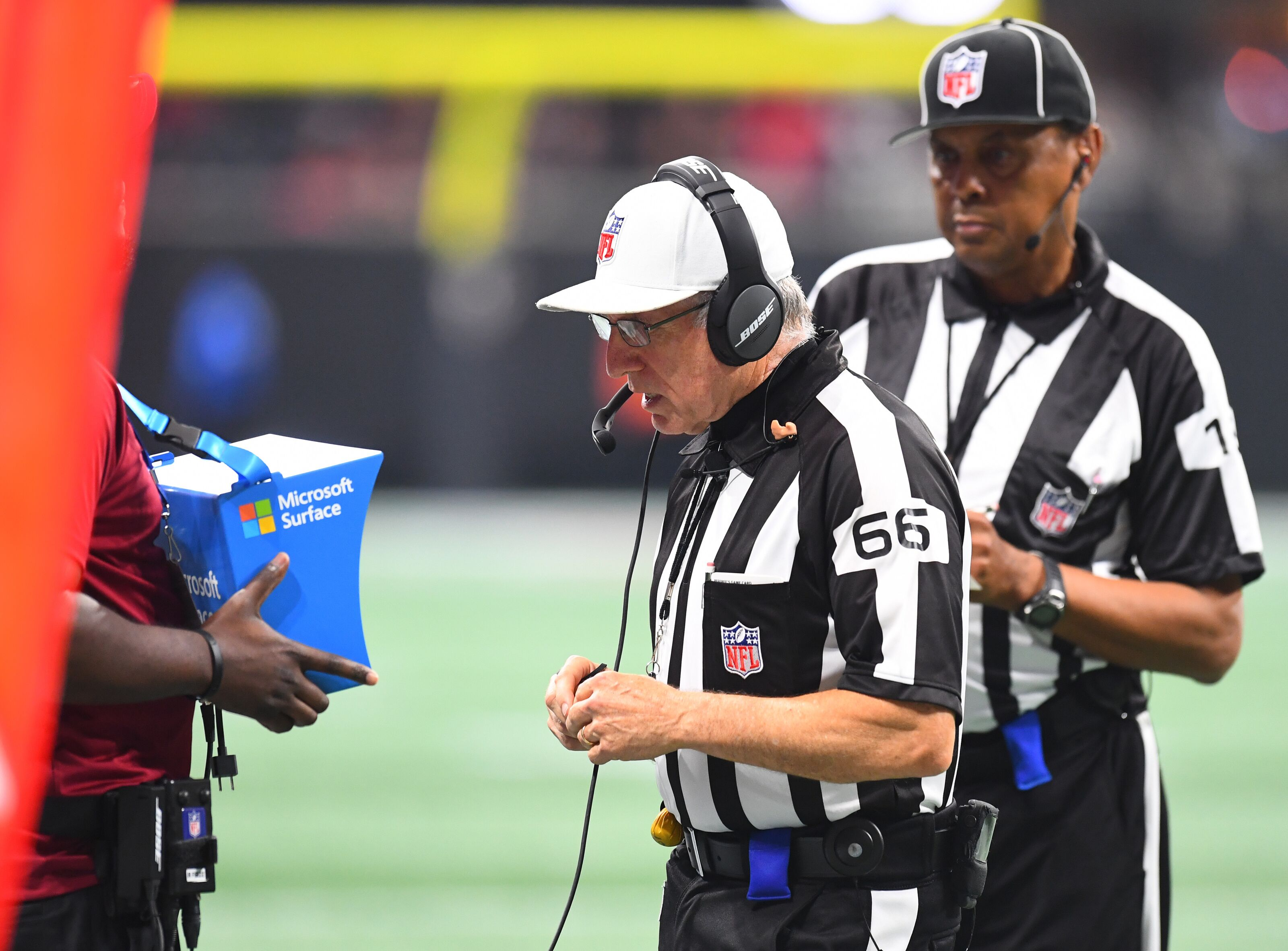 NFL needs to fix their officiating problem and allow reviews on everything