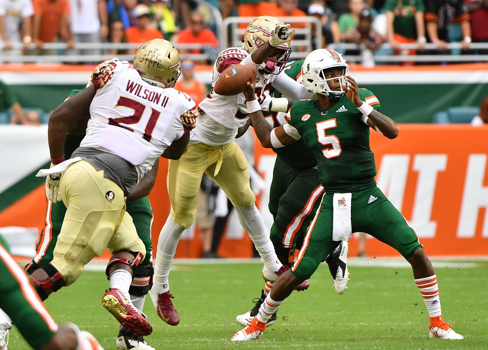 Latest FanSided NFL mock draft has the Miami Dolphins going edge