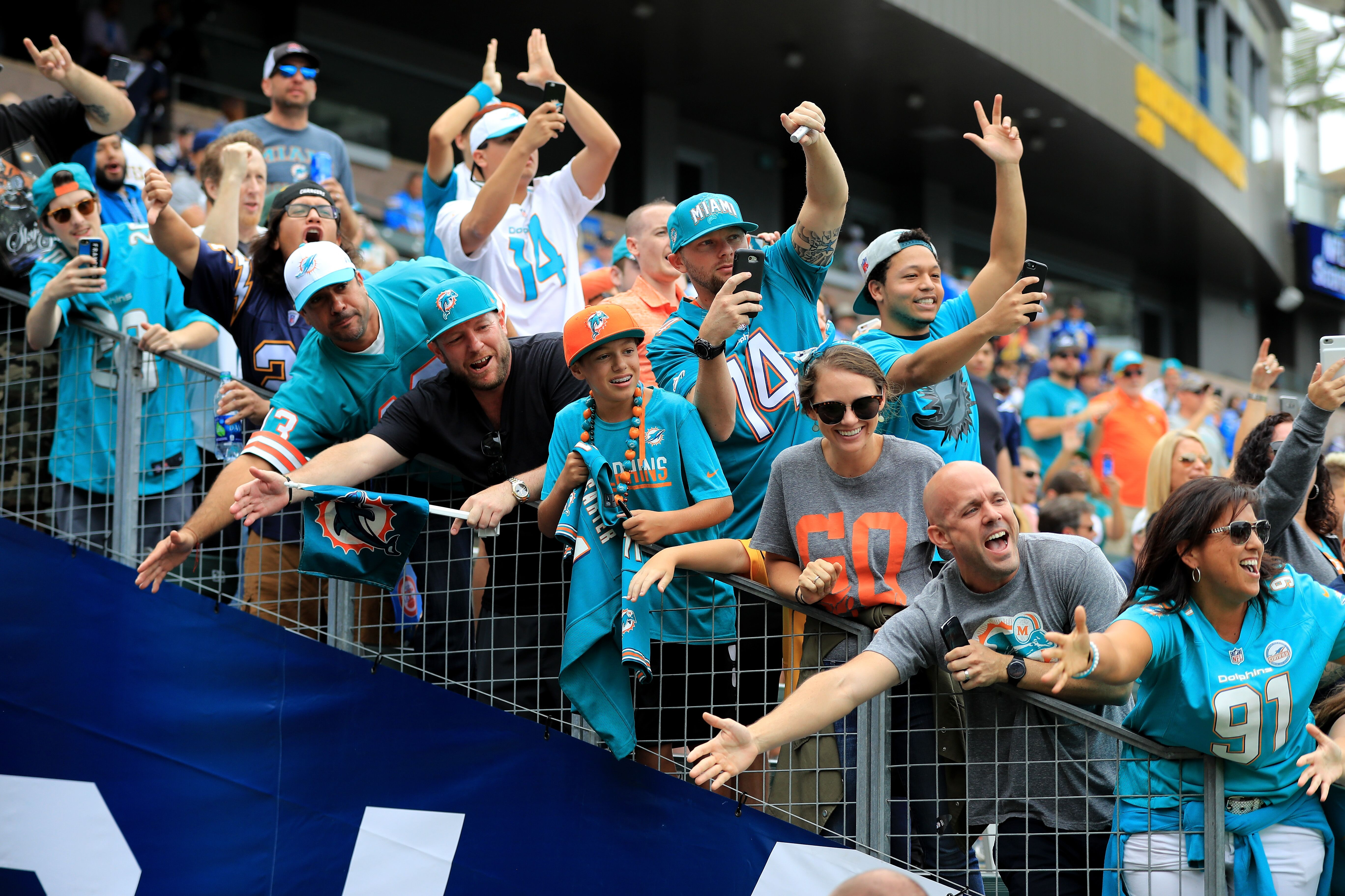 Miami Dolphins ready for pre-season game two against the Buccaneeers