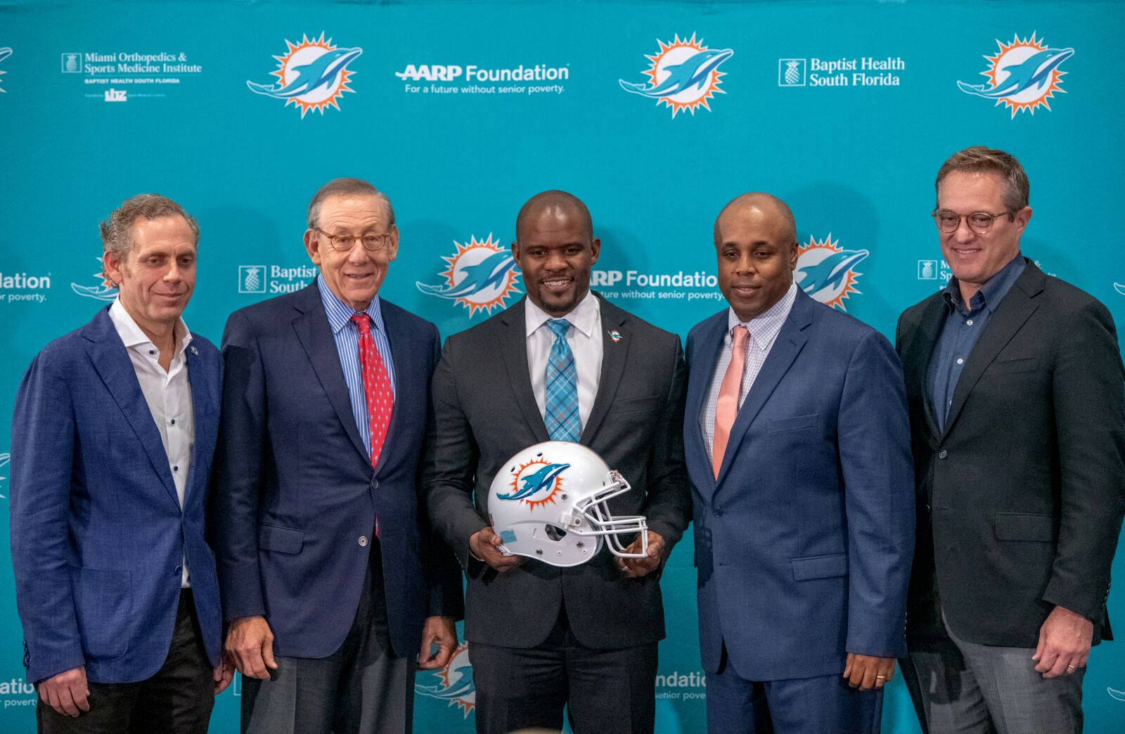 Miami Dolphins Chris Grier hired Flores because of generation gap