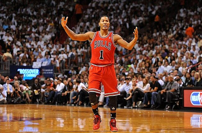 7015d5781f44 Derrick Rose s return could have gone better. Mandatory Credit  Steve  Mitchell-USA TODAY