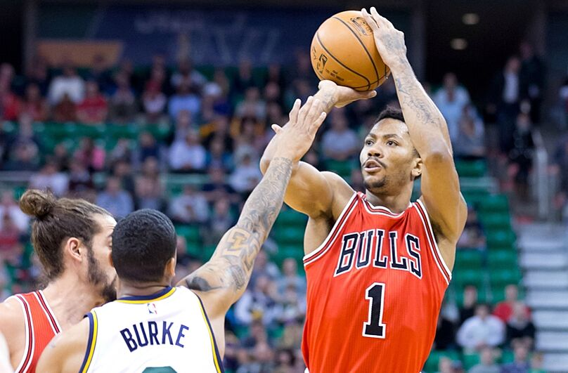 5f2112ebd4e4 Derrick Rose Highlights vs Jazz  VIDEO