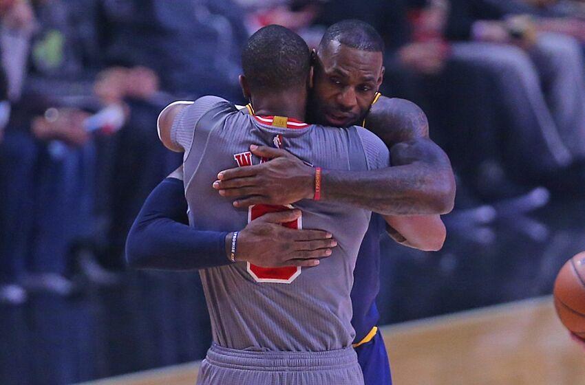 8900ad47e44e Chicago Bulls vs. Cleveland Cavaliers  Reaction of James vs. Wade