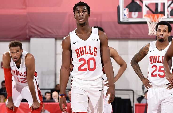 best website 8e5e4 a81ca Chicago Bulls: Adam Mokoka deserves roster spot consideration