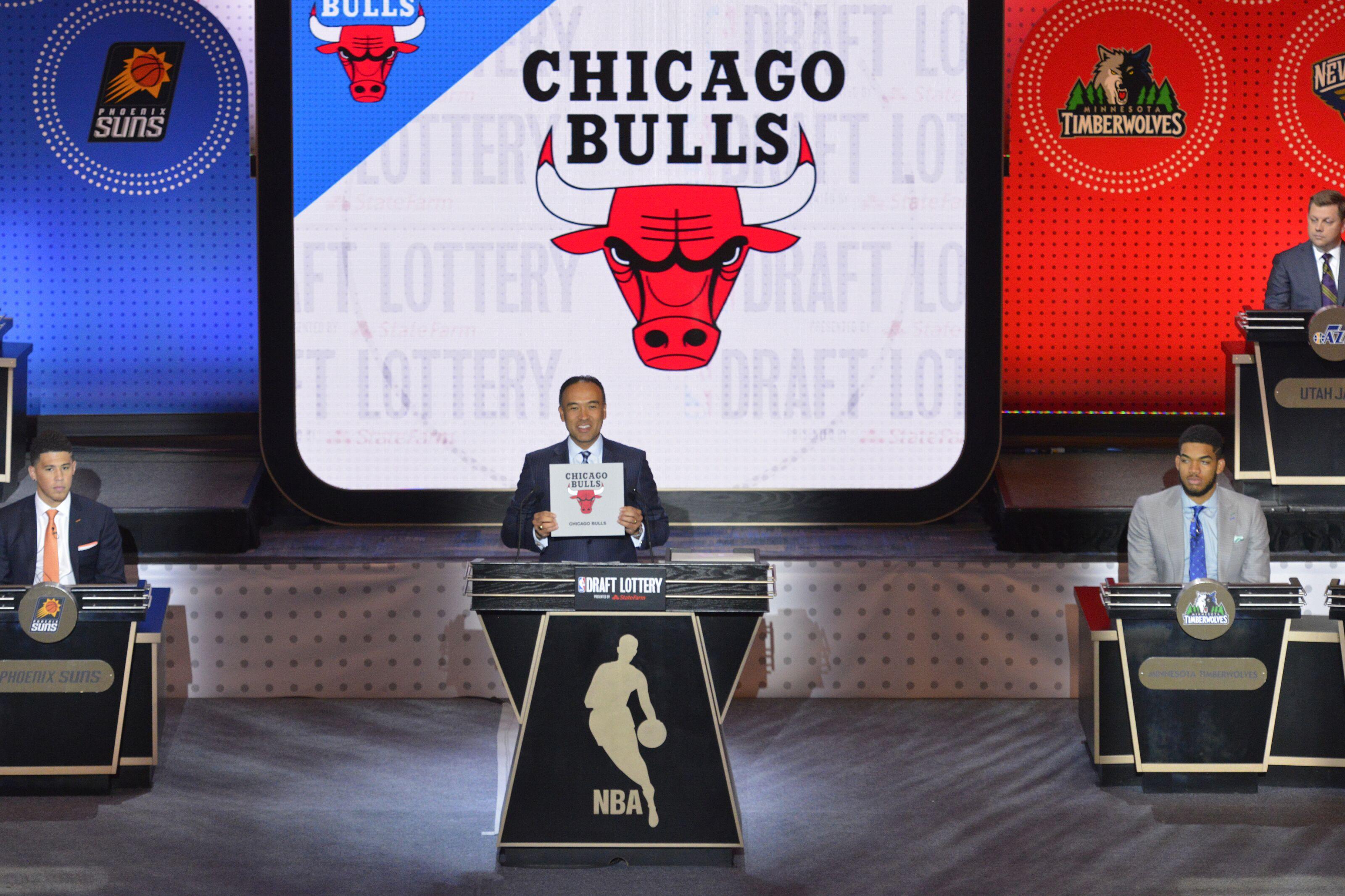 Chicago Bulls draft position revealed