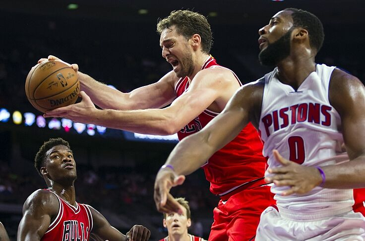 Pistons Bulls Game Bumped Off Espn