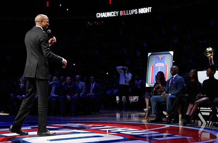 pretty nice 97a64 4d6c6 Richard Hamilton to have jersey retired by Detroit Pistons