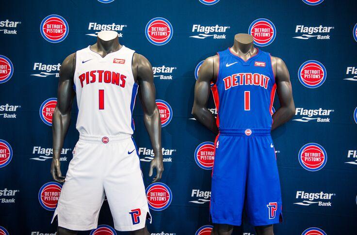 on sale 4fb4b 63027 Detroit Pistons: Detroit Pistons Unveil Nike City Edition Jersey