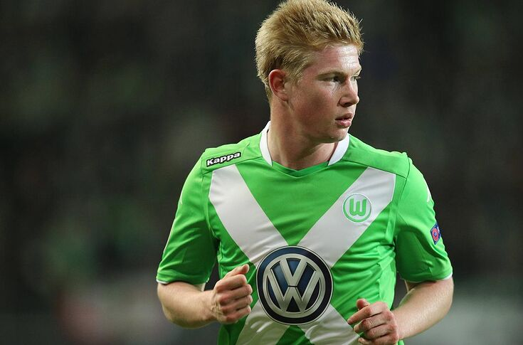 new product f093d 946aa Man City sign Wolfsburg midfielder Kevin de Bruyne for £55 ...