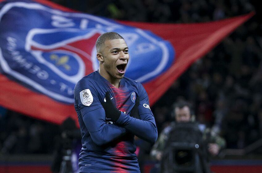 Image result for mbappe  PSG manager makes Mbappe and Neymar comments ahead Man Utd match image url https 3A 2F 2Fplayingfor90