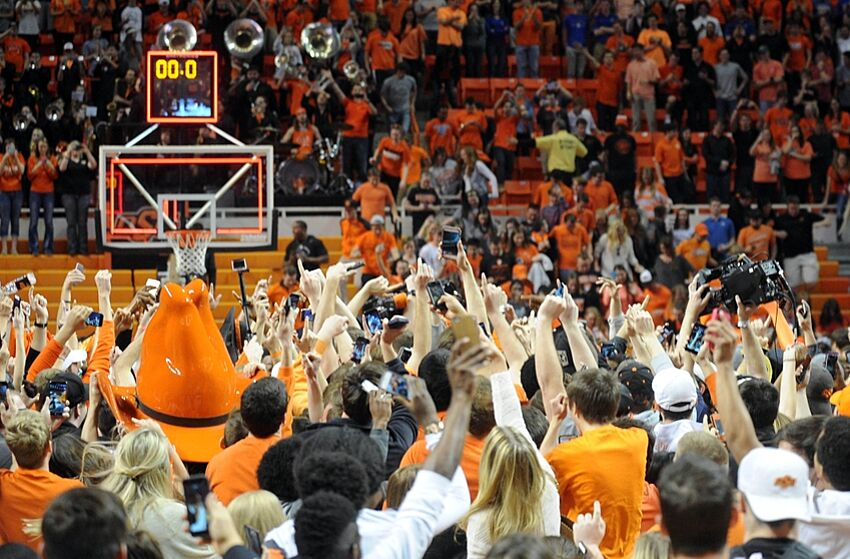 Oklahoma state basketball one fan 39 s plea for support for Gallagher flooring