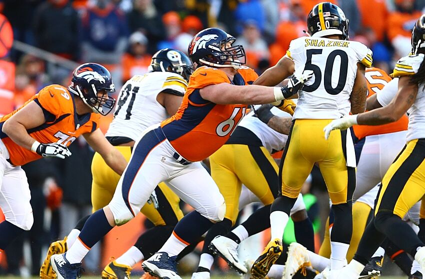 404a28360be How Denver Broncos Center Matt Paradis has transformed