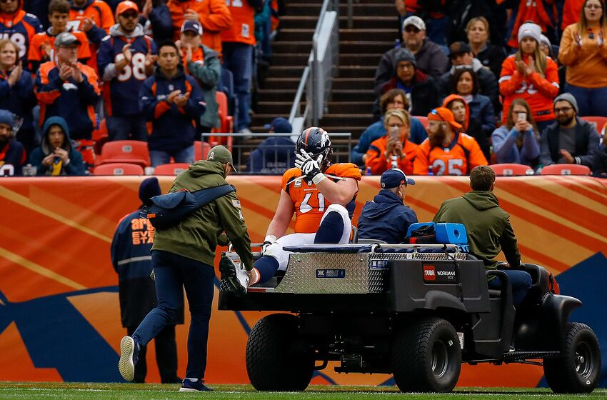 586c0063fbc Denver Broncos center Matt Paradis to miss remainder of season
